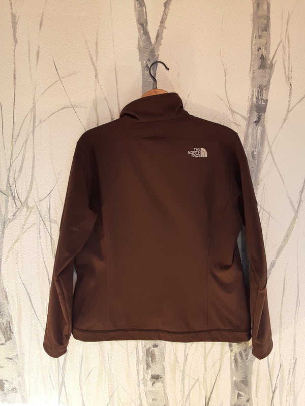 Brown The North Face Softshell Jacket, W L