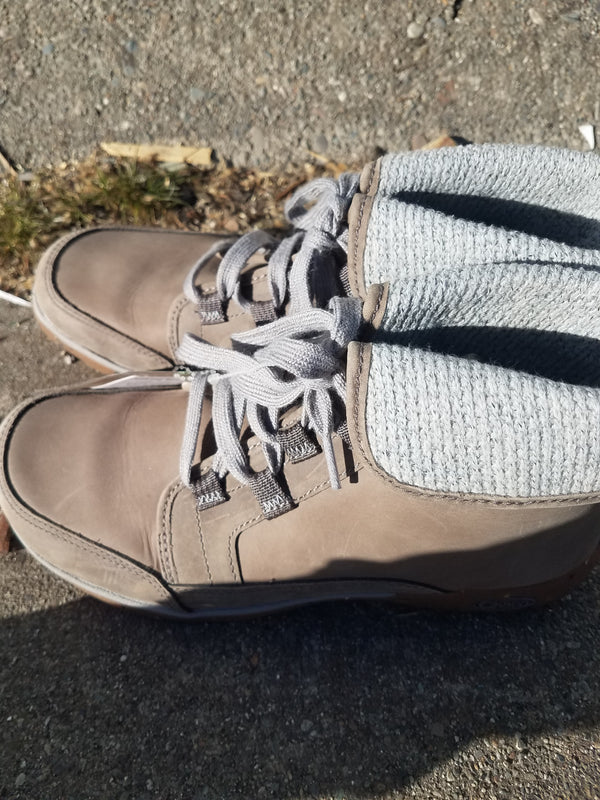 Chaco Hiking Boots - Gray, W 8.5