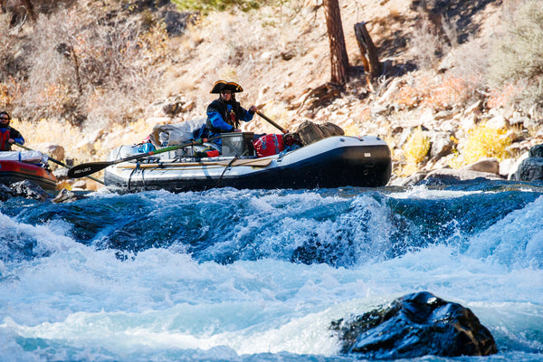 4-Day White Water Rafting Trip