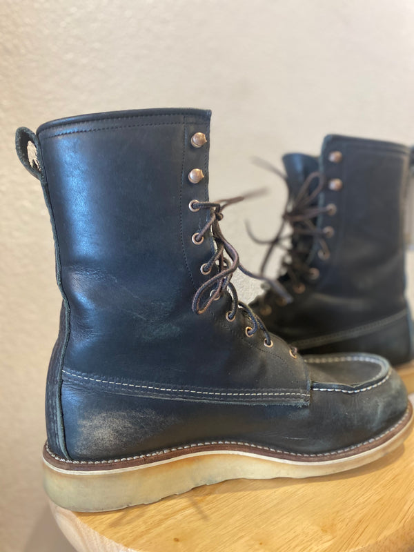 Red Wing Shoes Boots - Black, W 9.5