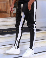 Striped Running Pants Men