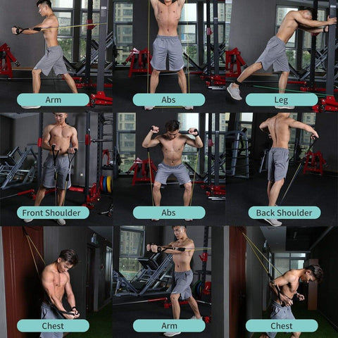 11pcs/set Pull Rope Fitness Exercises