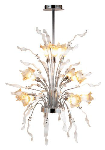 Eurofase Lighting 17540 Delphian 32 inch wide 12 Light Chandelier