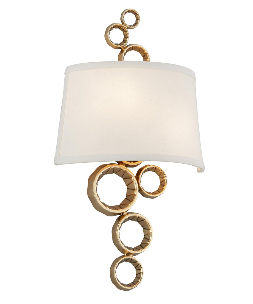 Corbett Lighting 184-12 Continuum 11 Inch Wide Wall Sconce.