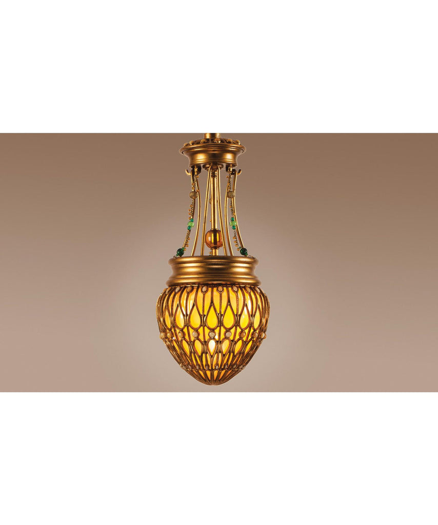Authenticity Lighting 20-0001-01 Bengal 8 Inch Mini Pendant