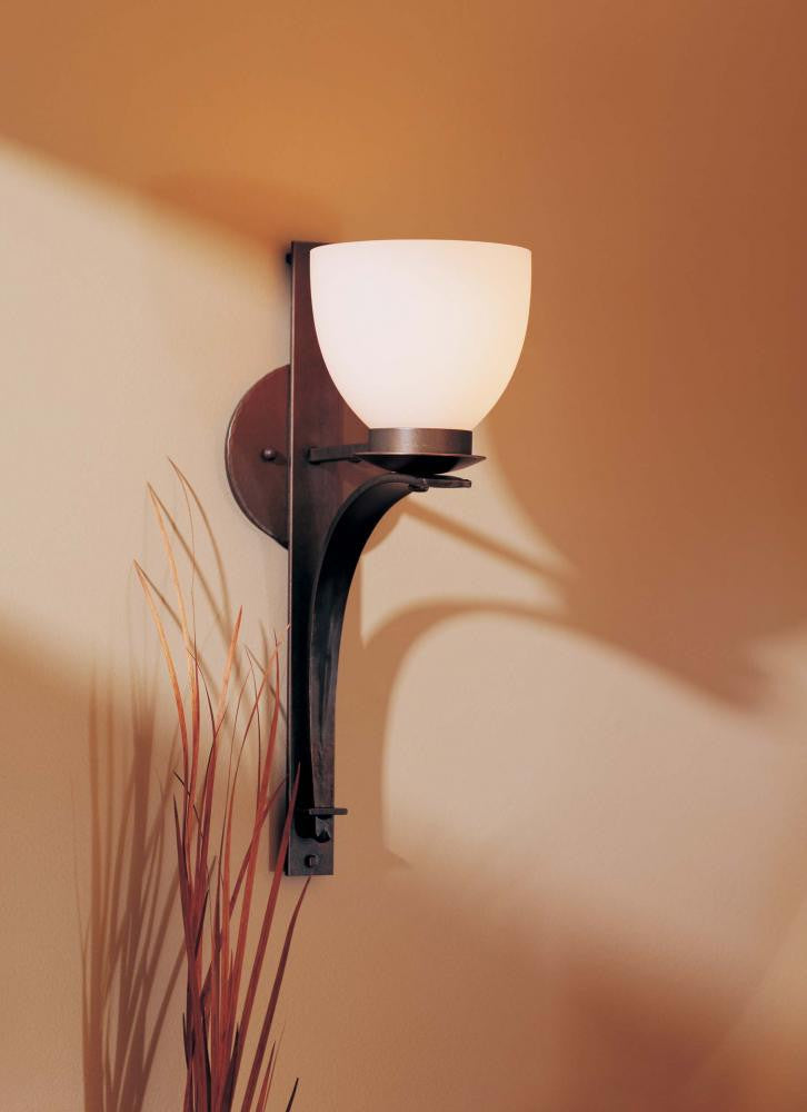 Hubbardton Forge 204506-05 Bronze 1 Light Up Light Wall Sconce