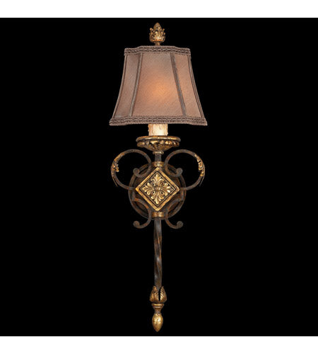 Fine Art Lamps 234450ST Castile 1 Light 9 inch Antiqued Finish Sconce Wall Light