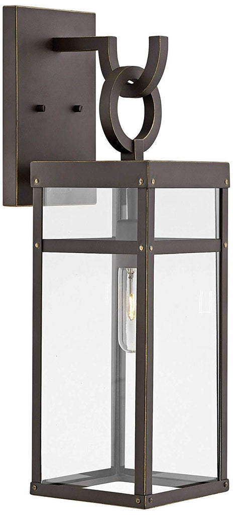 Hinkley Porter 2800OZ Modern Farmhouse Wall Lantern