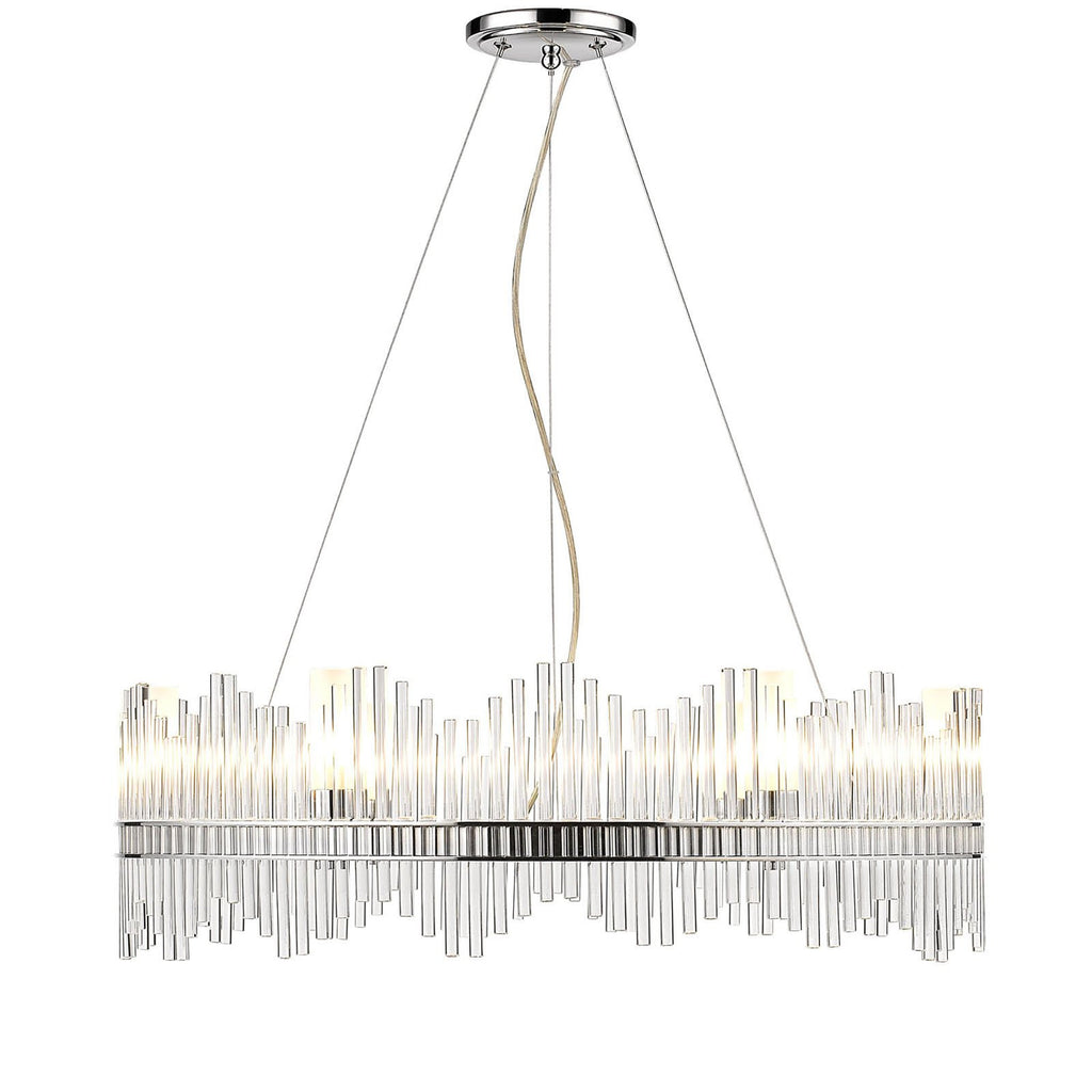 Golden Lighting Luciano 4015-6 CH Chandelier