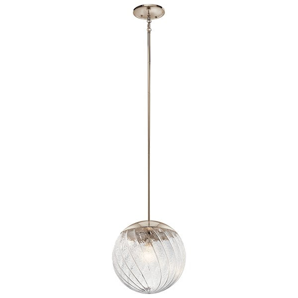 Kichler Amaryliss 1 Light Pendant Polished Nickel™ 44132PN