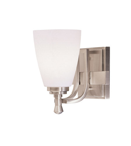 Kichler Lighting Uptown 1 Light Bath Vanity in Brushed Nickel 5401NI