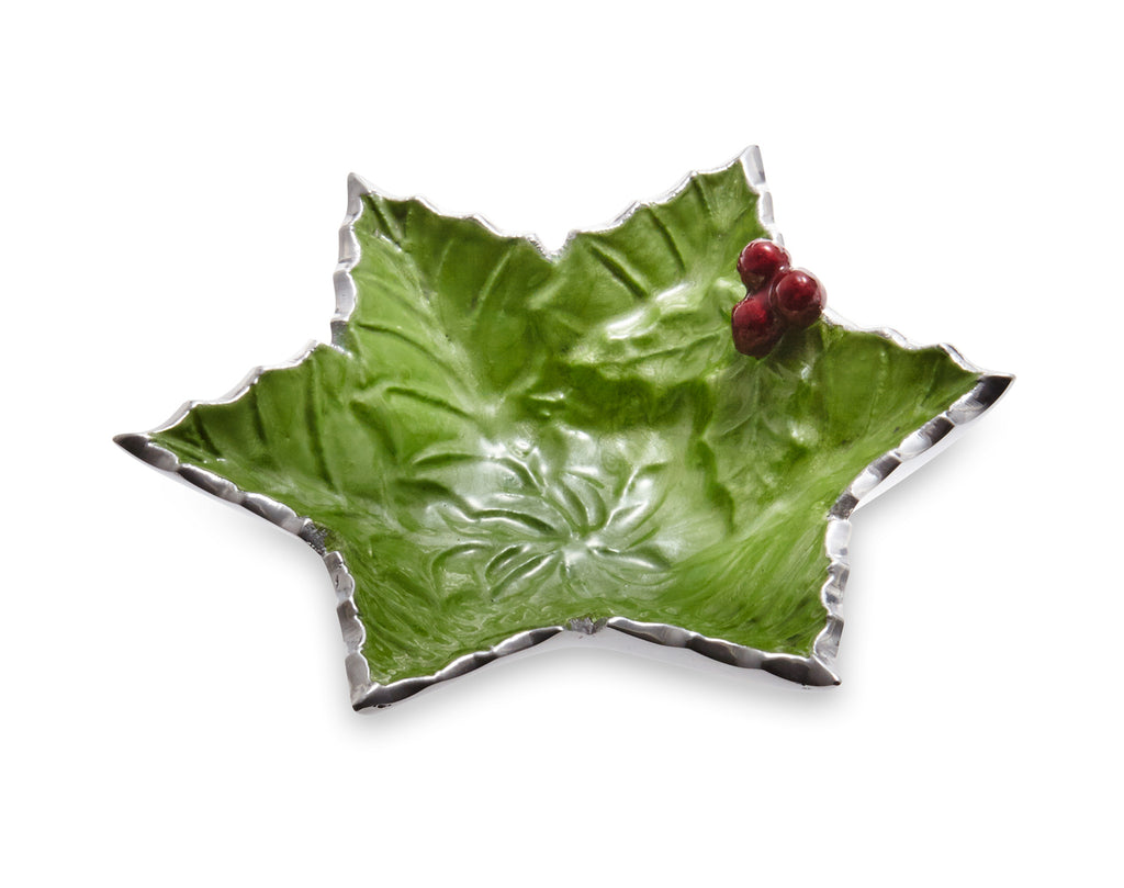 "Julia Knight Holly Sprig Starflake 6"" Bowl Mojito #5632023"