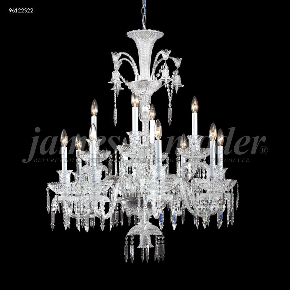 James R Moder 96122S22 - Le Chateau 12 Arm Chandelier