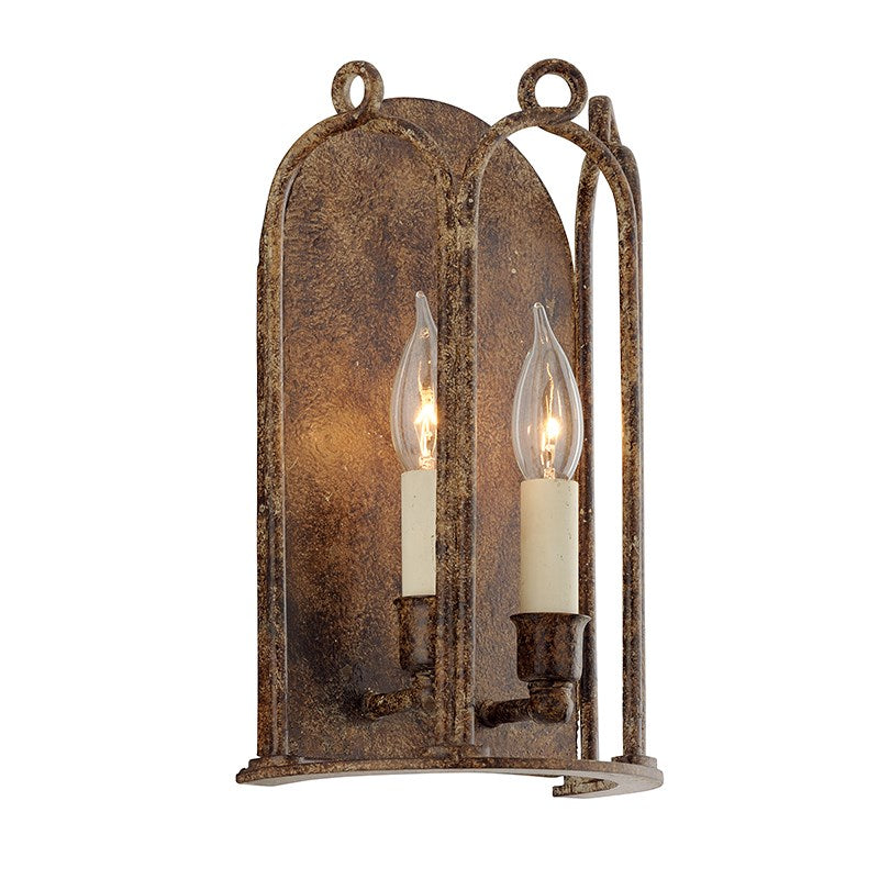Troy Lighting B4832 Carousel 2 Light 8 inch Provence Bronze Wall Sconce Light