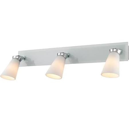 Copy of Iberlamp by Golden Lighting's Opera 3 Light Bath Vanity (Spotlight) #C024-03-CH