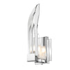 Golden Lighting C148-W1-CH Chrome Nan 1 Light ADA Compliant Bathroom Sconce