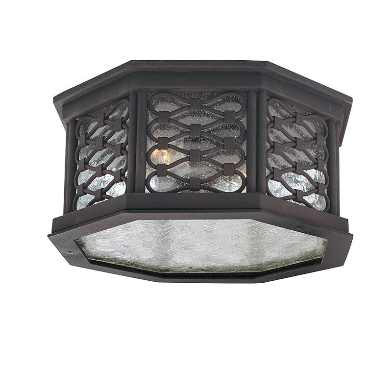 Troy Lighting LOS OLIVOS C2370OI in OLD IRON