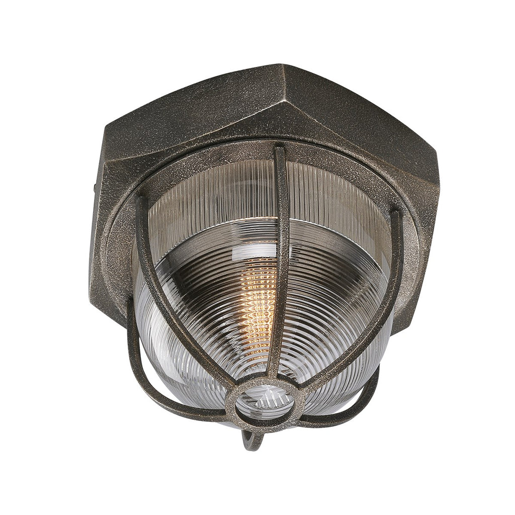 Troy Lighting Acme C3891 Aged Silver Flush Mount