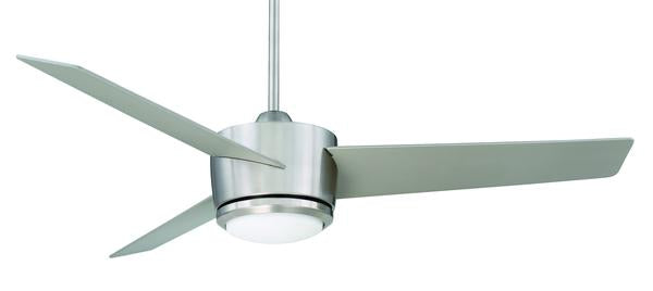 "Regency Cachet 54"" Brushed Nickel Ceiling Fan VA-BN"