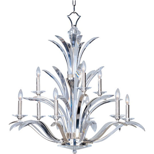 Maxim Paradise 9-Light Chandelier 39946BCPS