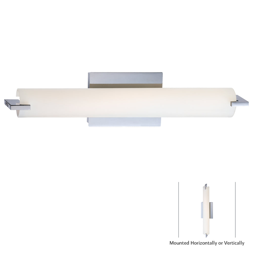 "George Kovacs Lighting - P5044-077 - Tube - 20"" LED Wall Sconce"