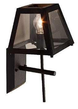 Artcraft Lighting SC237 Kingston Wall Lamp Light, Black