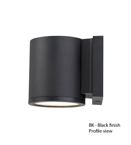 Modern Forms Tube LED Outdoor Wall Light in Black WS-W2605-BK or White WS-W2605 WT