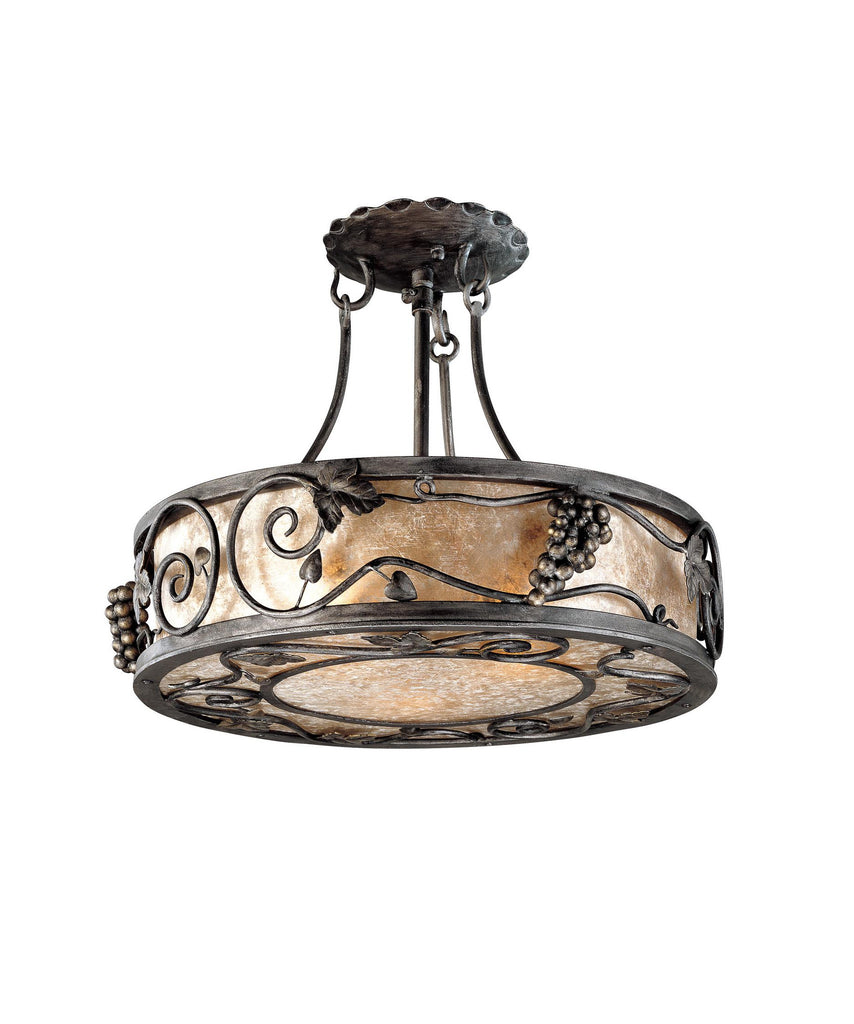 Troy Lighting C9673 Montrachet 14 Inch Semi Flush Mount