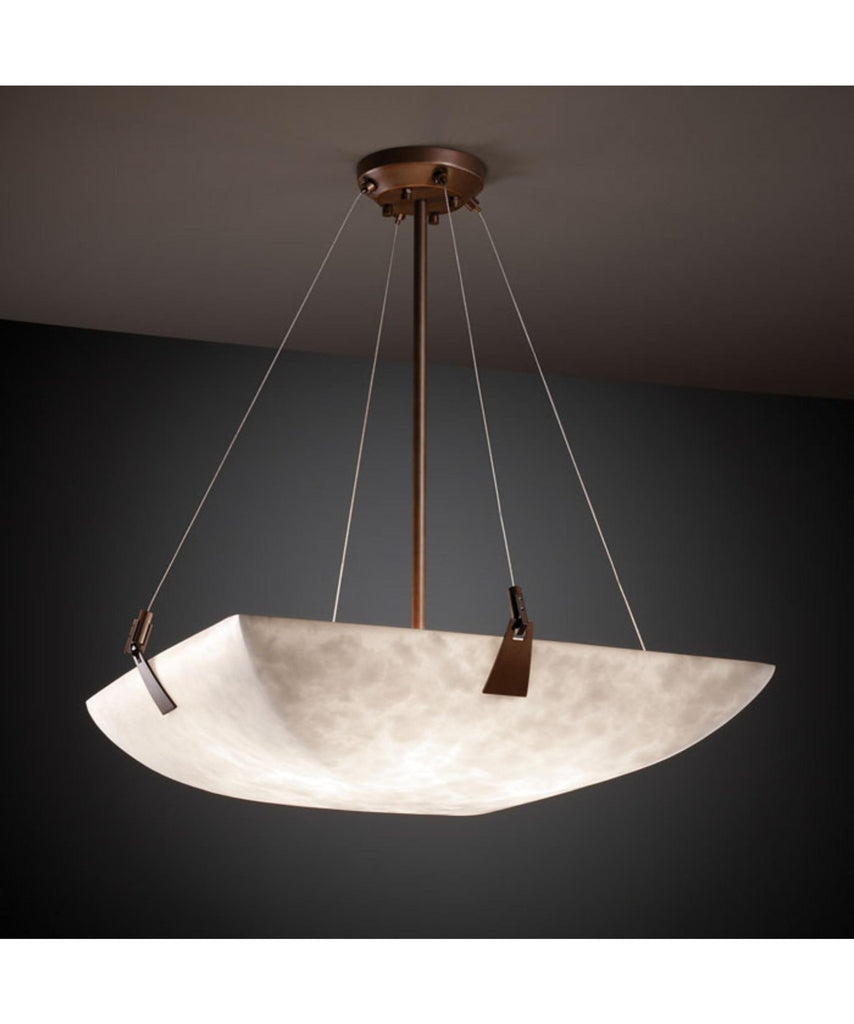 Justice Design Group FAL-9642 LumenAria Tapered 27 Inch Large Pendant