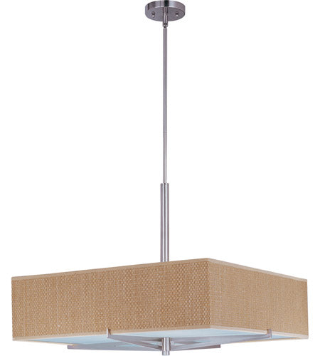 ET2 Elements E95348-101SN Grasscloth Pendant Light