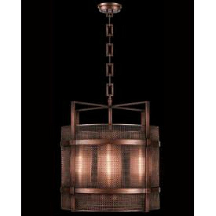 741440ST Fine Art Lamps Copper Veil - Four Light Lantern