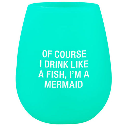Mermaid Silicone Wine Cup