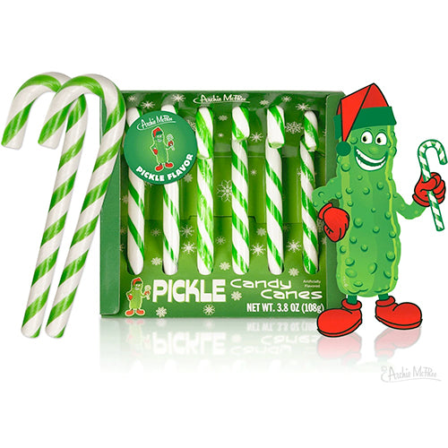 Pickles Candy Canes