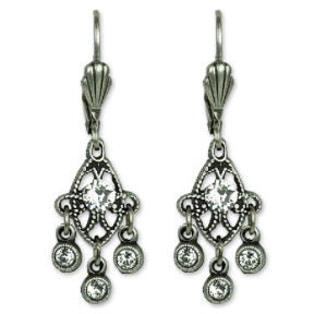 Chandelier Earrings with Swarovski® Crystals