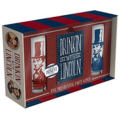 Drinkin' With Lincoln Presidential Card Game
