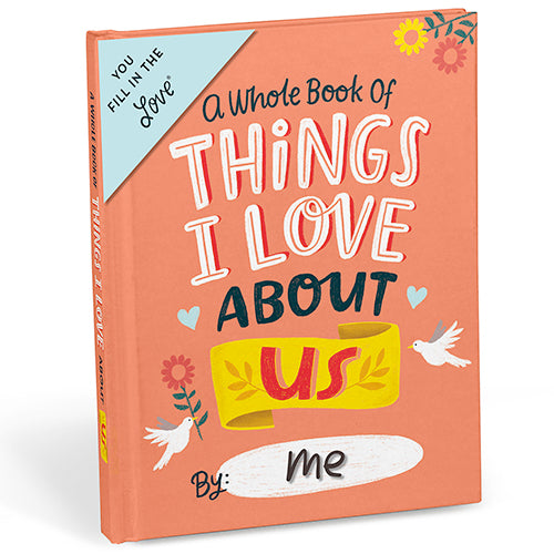 About US Fill in the Love Journal