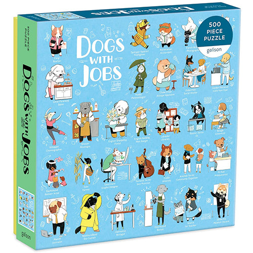 Dogs WIth Jobs Puzzle - 500 piece