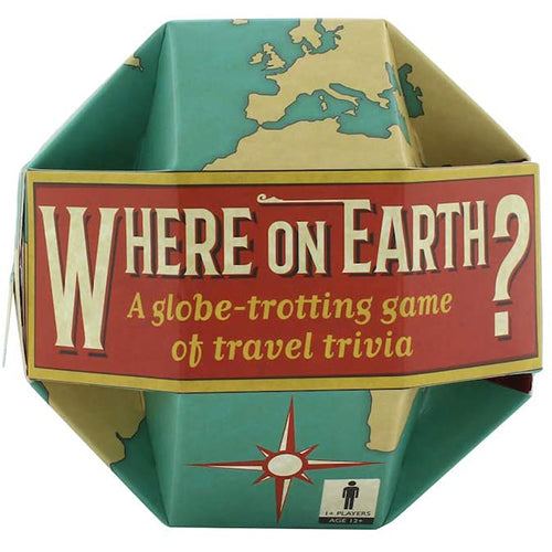 Where On Earth Travel Game