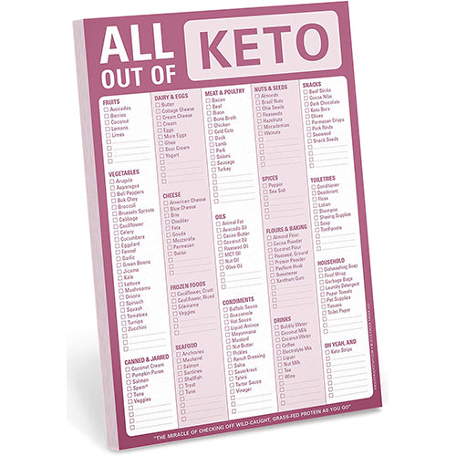 KETO All Out Of Pad