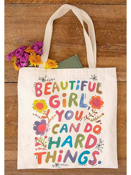 "Beautiful Girl ""Chirp"" Tote Bag"