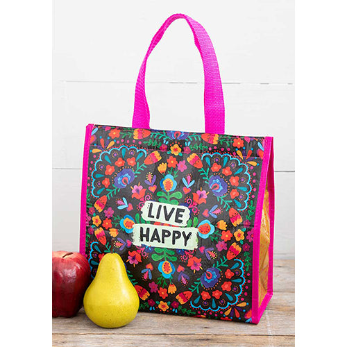 Live Happy Insulated Lunch Tote