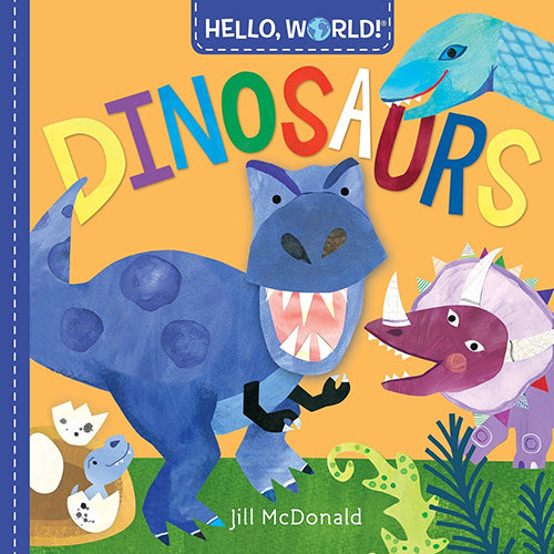 Hello, World! Dinosaurs - Board Book