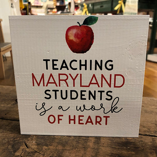 Teaching Maryland Students is a Work of Heart Block