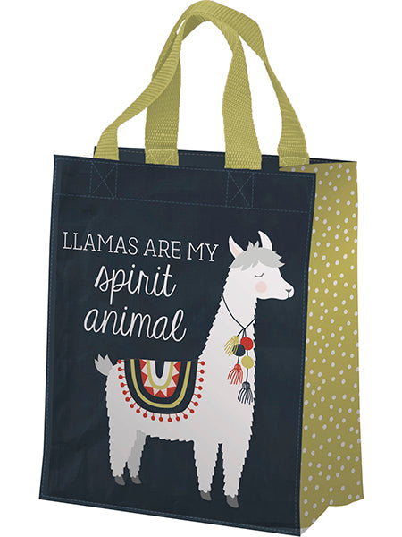 Llamas Are My Spirit Animal Daily Tote