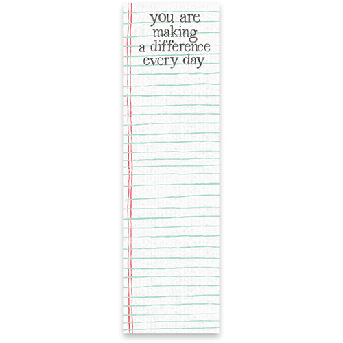 Making a Difference Every Day List Pad
