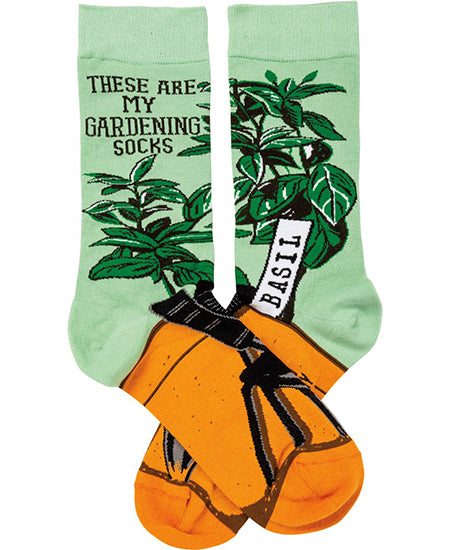 These Are My Gardening Socks Crew Socks