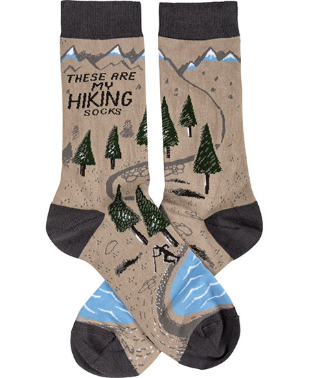 These Are My Hiking Socks Crew Socks