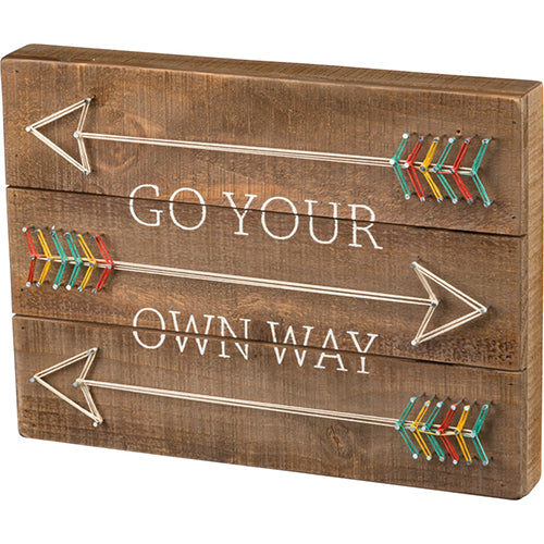 Go Your Own Way String Art
