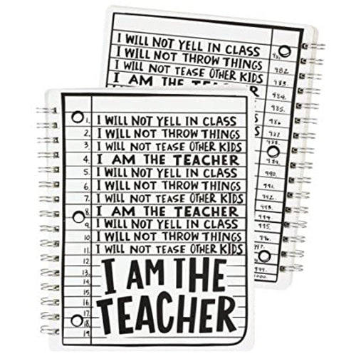 I Am the Teacher - Spiral Notebook