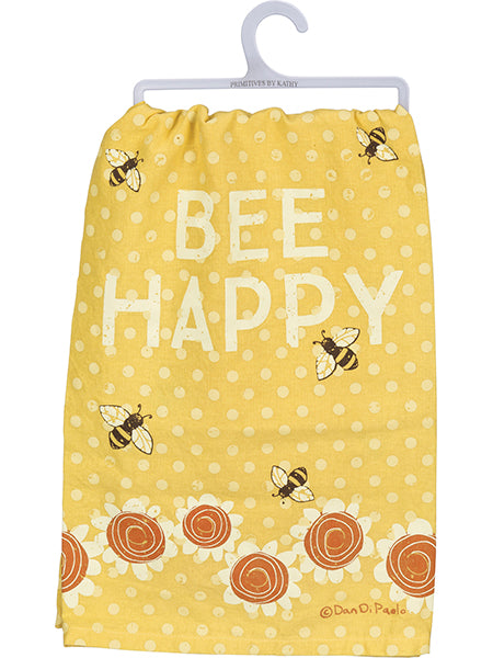 Bee Happy - Dish Towel